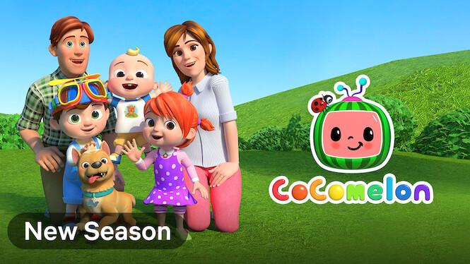 CoComelon on Netflix UK